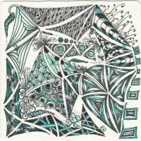 """""""Gewirr"""" gezeichnet von Ela Rieger, CZT"""