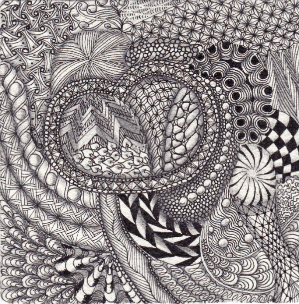 Zentangle by Ela Rieger, CZT